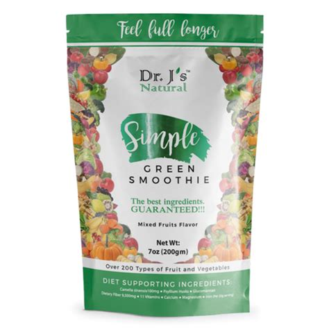 Dr J S Simple Detox by Simple Green Smoothie Drjsnatural