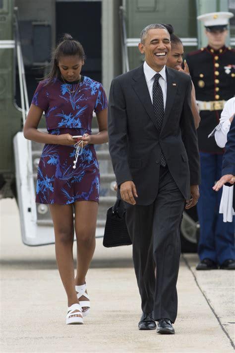 obama 2016 sasha malia et sasha les filles de barack et michelle obama