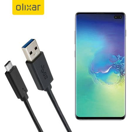 Samsung Galaxy S10 Charge 3 0 by Olixar Usb C Samsung Galaxy S10 Plus Charging Cable Reviews