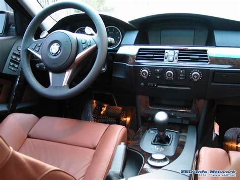 Bmw E60 Interior Mods by Options Interior Auburn Dakota Poplar Auburn Dakota