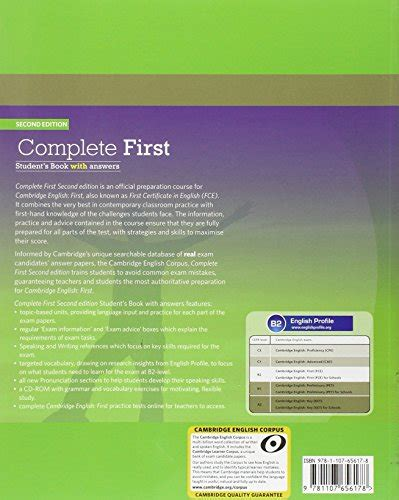 libro complete first students book libro complete first certificate student s book workbook with answers con espansione online