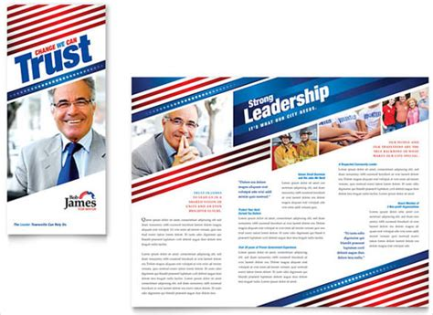 9 election brochure templates free psd eps