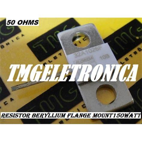 Flange 150nb 50 Ohm 150w resistor de radio frequencia 50 ohms berilio resistor para