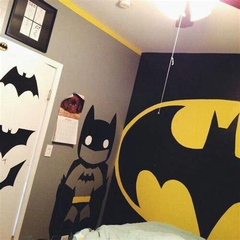 batman bedroom home decor