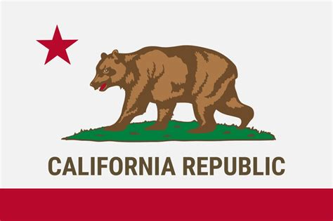 california state colors free printable california state flag color book pages