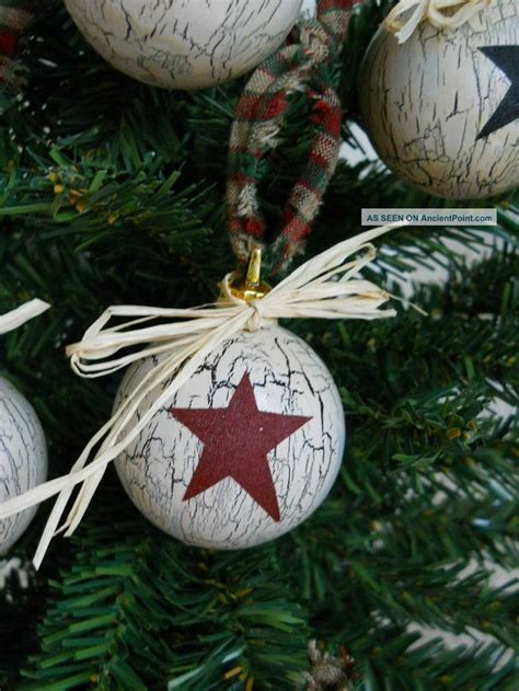 25 best ideas about country christmas ornaments on