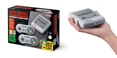 nintendo anuncia la nintendo entertainment system nes classic edition snes mini ya es oficial la versi 243 n peque 241 a de la nintendo saldr 225 al mercado videojuegos