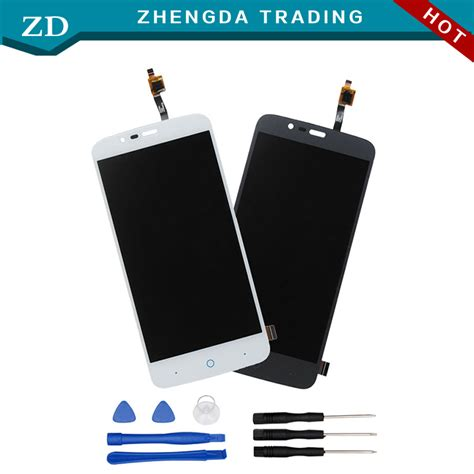 Lcd Zte V815 Gojek Ori 100 aliexpress buy for zte blade a310 lcd display touch screen 100 original screen digitizer