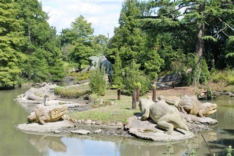 wandle kristall the dinosaurs at palace park