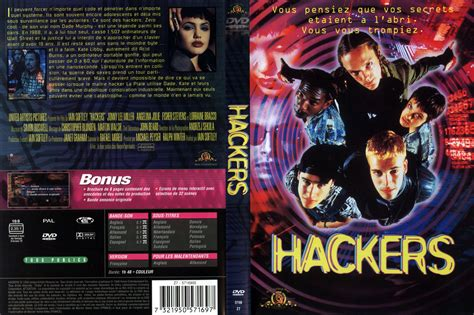 hacker nei film jaquette dvd de hackers cin 233 ma passion