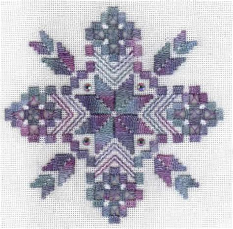 Simple Hardanger Pattern | free patterns for hardanger embroidery