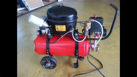 diy small silent air compressor mini compressore silenzioso