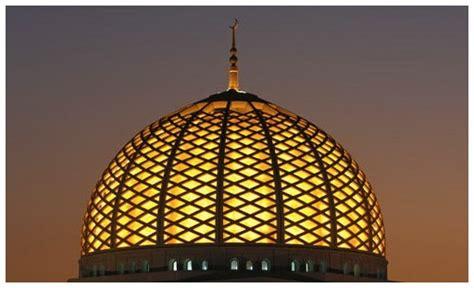 Lu Hias Kubah Masjid kubah masjid kesan dekoratif pada kubah masjid pusat