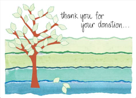 Thank You Letter Gift Card - charity card donation thank you cards order thank you notes today it takes two