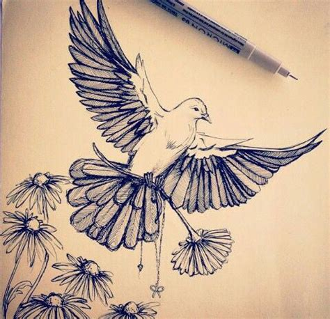 dove tattoo drawings best 25 dove tattoos ideas on peace dove