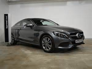 used mercedes c class diesel coupe c220d sport
