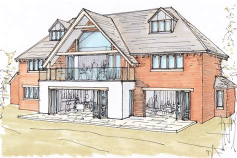 creating a house planning permission granted for new build home ben