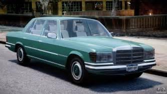 Mercedes W116 Mercedes 280se W116 For Gta 4
