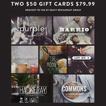 Restaurant Gift Cards Costco - restaurant gift cards costco