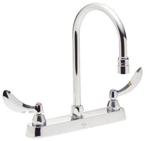 gooseneck kitchen faucet gooseneck kitchen faucet parts shop houzz delta faucet company delta teck deckmount