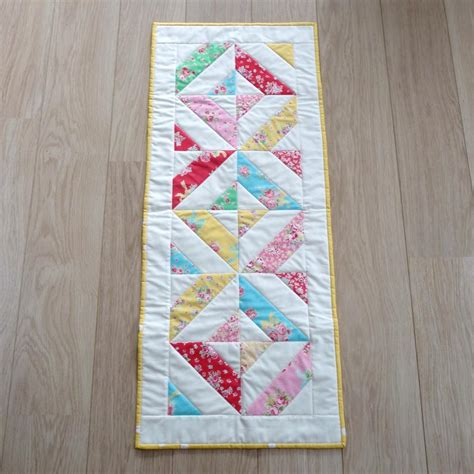 Patchwork Table Runner - quilted table runner on luulla
