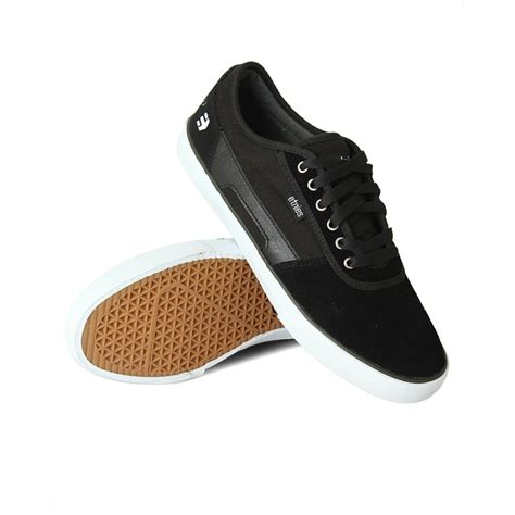 nick shoes etnies nick garcia rct mens skate shoes black white