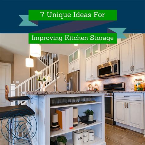 7 unique ideas for improving kitchen storage reduce clutter
