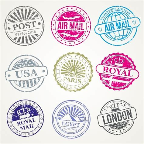 Postal Mail Sweepstakes - retro postal sts mail post office graphics creative market