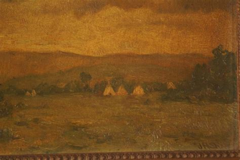 H Painting by Original Painting By Joseph Henry Sharp Western