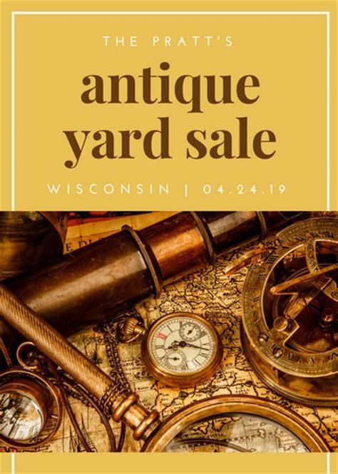 canva yard sale yard sale flyer templates canva