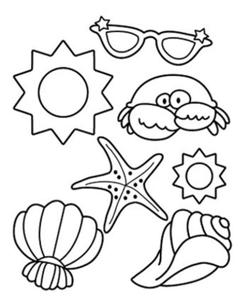 5 secod s of summer colouring pages