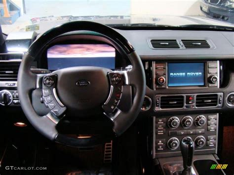 range rover dashboard 2010 land rover range rover supercharged autobiography jet