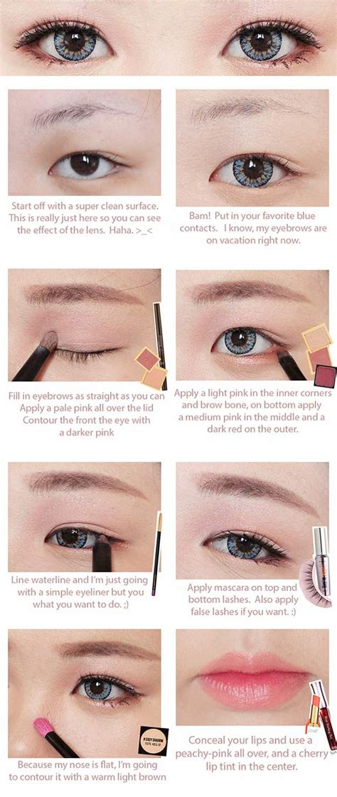 makeup tutorial natural yoona snsd 37 best korean makeup tutorials page 2 of 4 the goddess