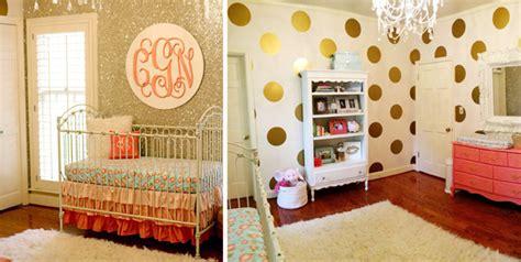 glitter wallpaper nursery gold is the new gray project nursery