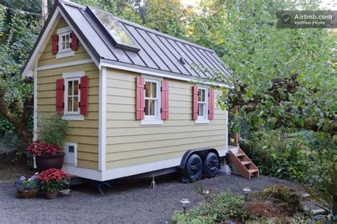 tiny homes washington cozy tiny house for rent in olympia wa