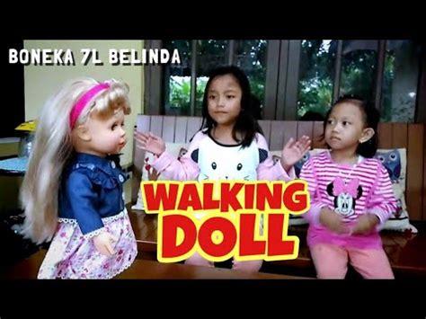 Boneka Lucu Bisa Bicara boneka lucu bisa jalan bicara walking doll 7l belinda