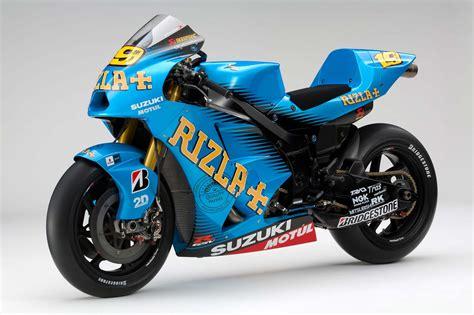 Suzuki Racing Bikes Price 2011 Rizla Suzuki Gsv R Motogp Race Bike Unveiled