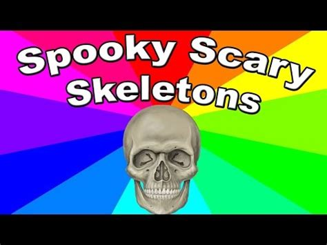 Spooky Scary Skeletons Meme - the meaning of he will not divide us a look at the a