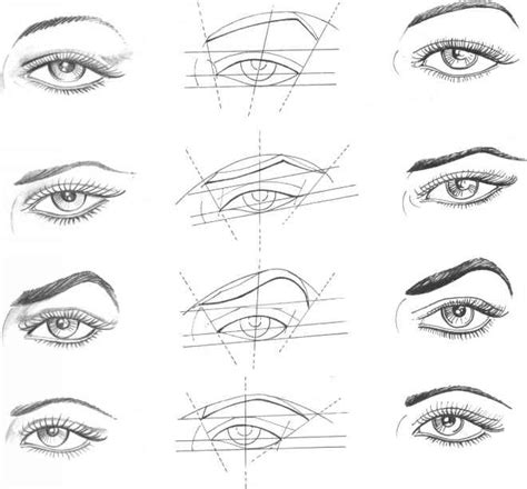 eye pattern drawing how to draw a realistic eye narrated step by step