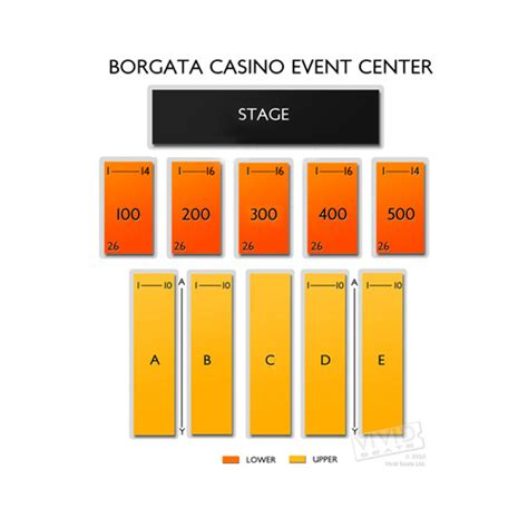 borgata casino floor plan borgata atlantic city concerts seating chart