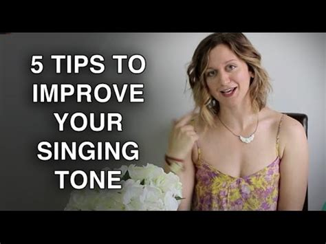 5 tips to improve your singing tone felicia ricci doovi