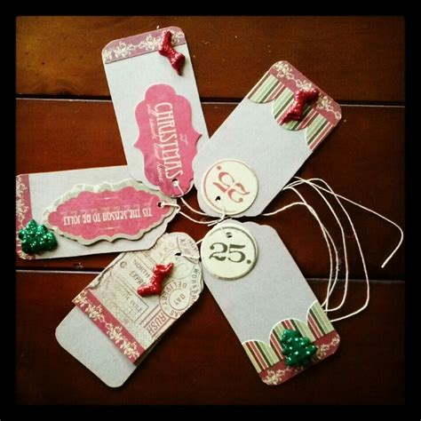 Handmade Tags For Gifts - handmade gift tags