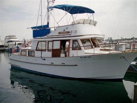 trawler boats for sale in michigan albin 36 trawler 1980 used boat for sale in mackinaw city