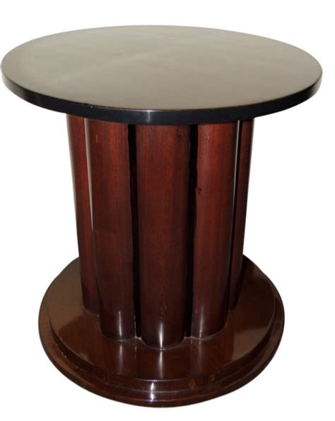 Round Pedestal End Tables Art Deco Furniture For Sale Small Tables Side Tables
