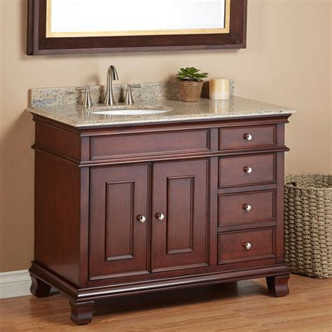 The Elegant 42 Inch Bathroom Vanity Combo With Exciting 42 Bathroom Cabinet