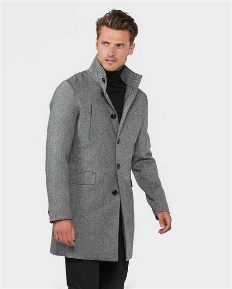 Jas Salt N Pepper Heren Salt And Pepper Wool Blend Jas 79365666 We Fashion