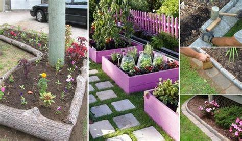 best garden edging ideas 25 garden bed edging ideas home and gardening ideas