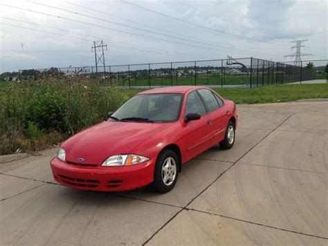 2001 Cavalier 4 Door by Sell Used 2001 Chevy Cavalier 4 Cyl 4 Door 2