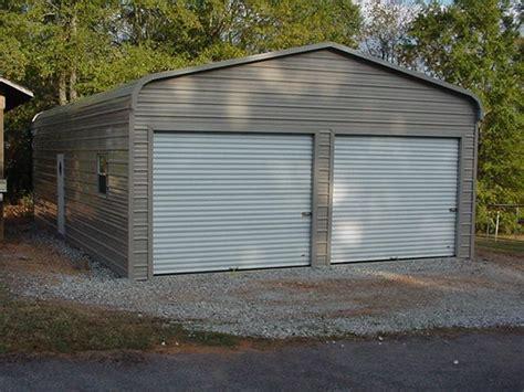 double car garage metal garages alabama al prices