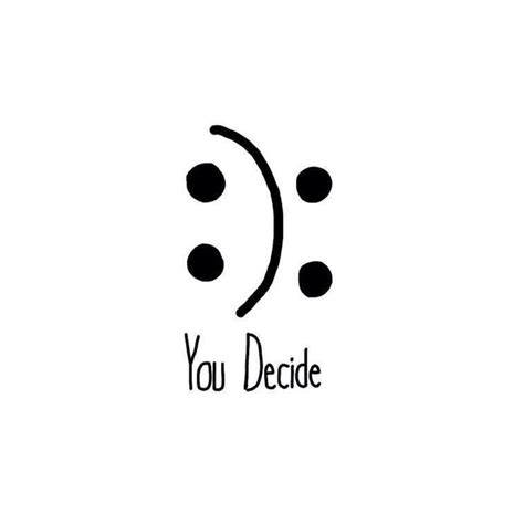 Kids Wall Decor Stickers quot happy or sad you decide quot by b4ndl4nd redbubble